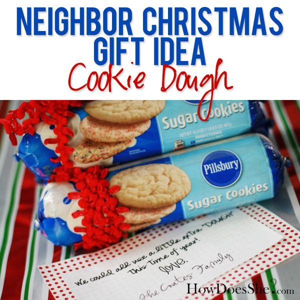 #5 Neighbor Christmas Gift Idea