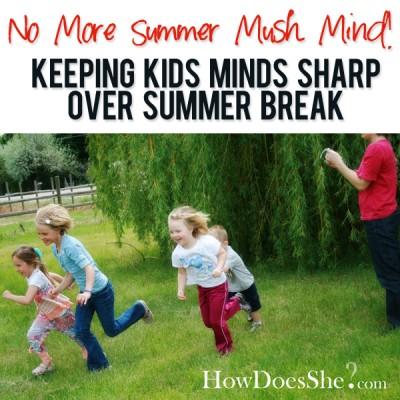 No more summer mush mind!