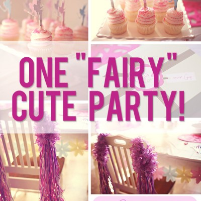 Cute Fairy Party Ideas
