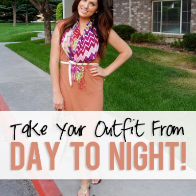 Pack Less! Take Your Outfit From Day To Night!