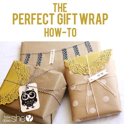Perfect Gift Wrap & Accessories!