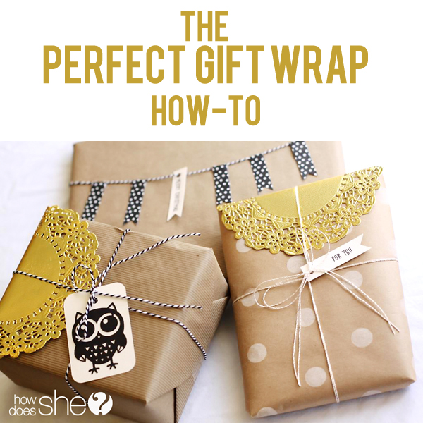 Perfect Gift Wrap Accessories