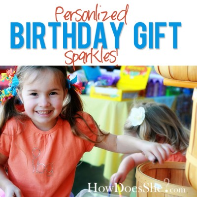 Personalized Birthday Gift…Sparkles