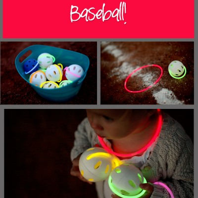 Glow-In-The-Dark Baseball! The Greatest Game Ever Played!