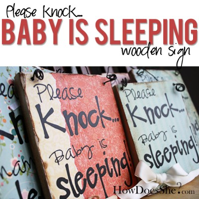 How do they know when I put my baby to sleep?