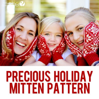 Feel that chill? Time to knit some mittens!