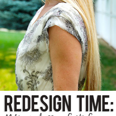 Redesign Time: How to make a dress perfect for you!