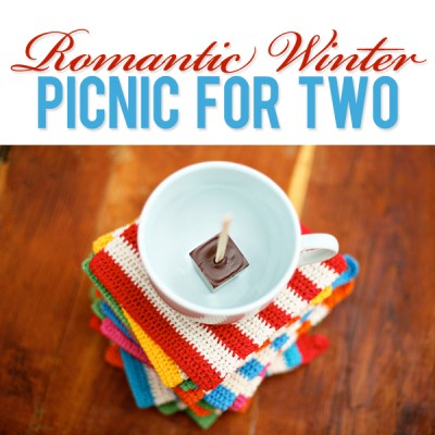 Romantic Winter Picnic for two