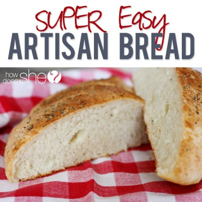 SUPER Easy Artisan Bread