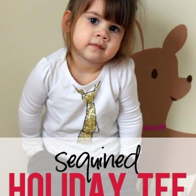 Sequin Holiday Tee