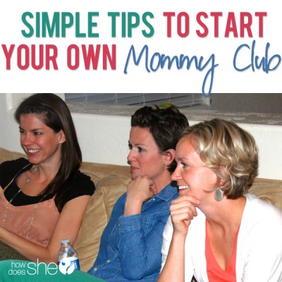 Guilt Free Mommy Play Dates- How to Start Your Own Club