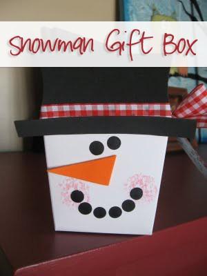 Snowman Gift Box