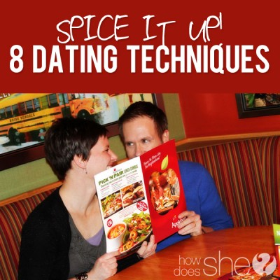 SpIcE it up…8 dating techniques