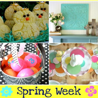 Spring Linky Party & Printables