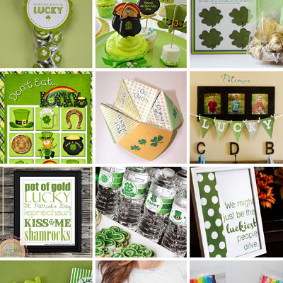Let's Go GREEN! 50+ FREE St. Patrick's Day Printables!