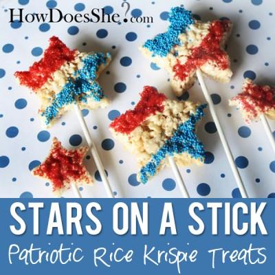 Stars on a Stick