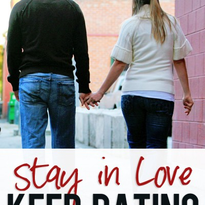 Stay in Love. Keep Dating.
