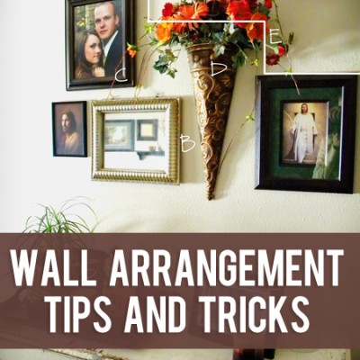 Wall Arrangements Using Wall Decor Tips and Tricks