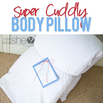 Super Cuddly Body Pillow