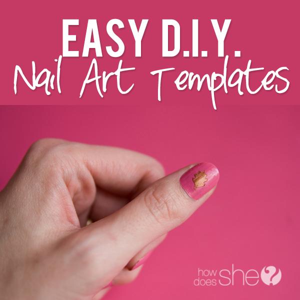 Easy DIY Nail Art Templates
