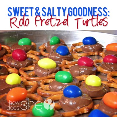 Sweet & Salty Goodness: Rolo Pretzel Turtles