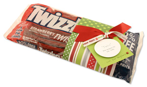 #23 Neighbor Christmas Gift Ideas -Twizzler