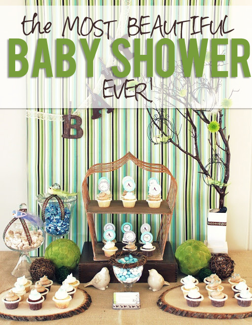 The Most Beautiful Baby Shower Ever