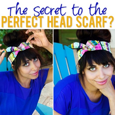 The Secret to the Perfect Head Scarf?
