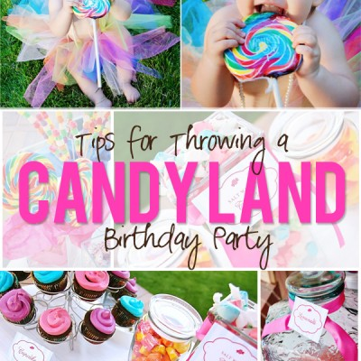 A Sweet Candyland Birthday