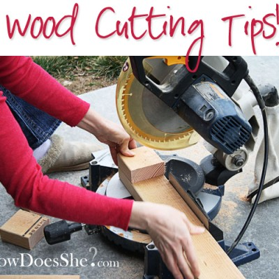 How Does She…Cut Wood?