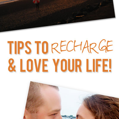 Put your oxygen mask on first: 5 ways to recharge and love your life!