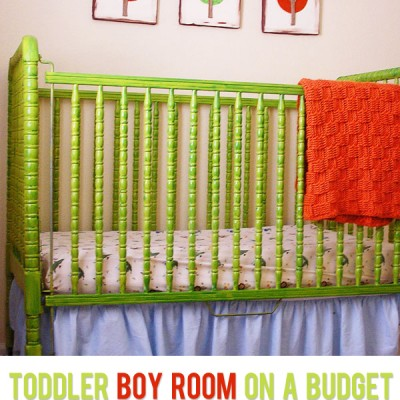 HowDoesShe? Toddler Boy Room on a Budget