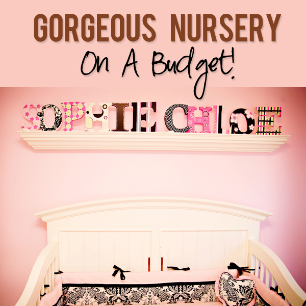 Twin Girls Nursery Decor