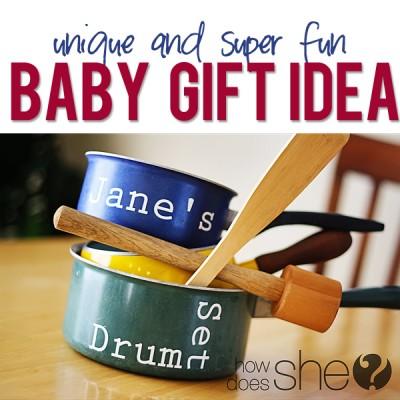 unusual baby gift…