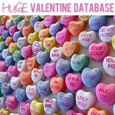 Valentine Database!