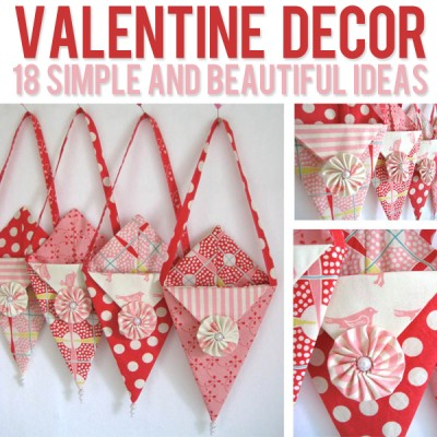 Valentine Decor – 18 ideas!