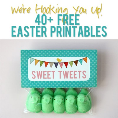 We're Hooking You Up! 40+ Free Easter Printables