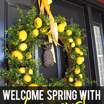 Welcome Spring with Lemons!