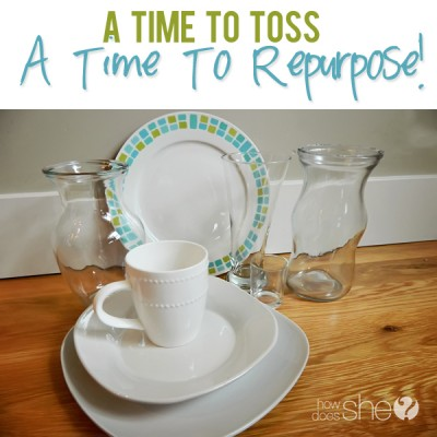 A Time to Toss, a Time to Repurpose