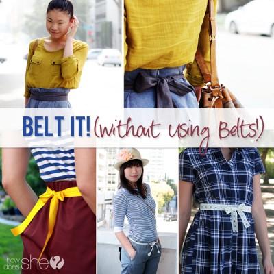 Belt It!