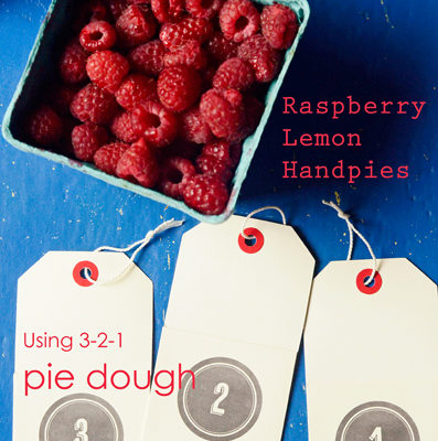 Raspberry Lemon Hand Pies