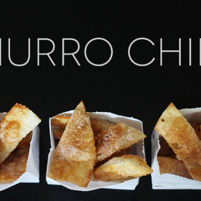 The Easiest Churro Chips Ever!
