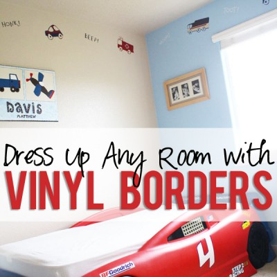 Vinyl Decoration for Borders