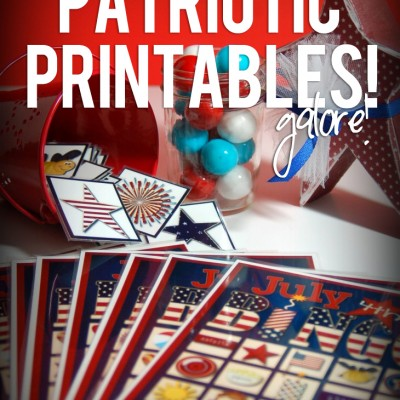 Free Patriotic Printables…12 To Choose From!