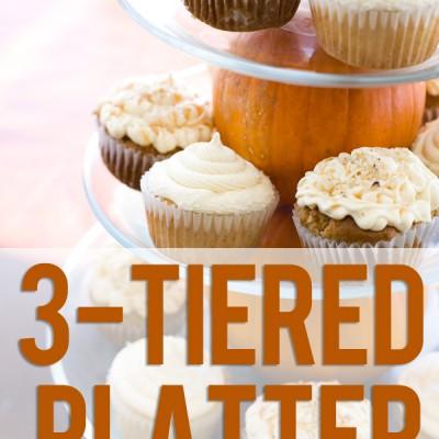 Tiered Cupcake Platter