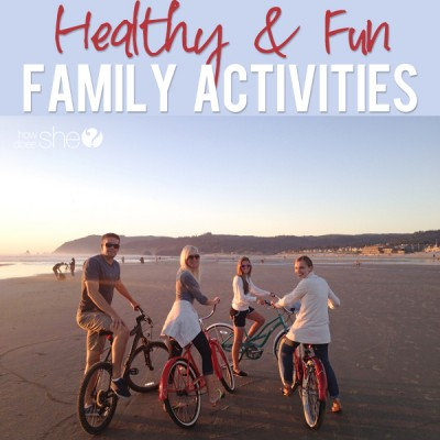 Oh What to Do in The Summer Time…Healthy Fun Family Activities