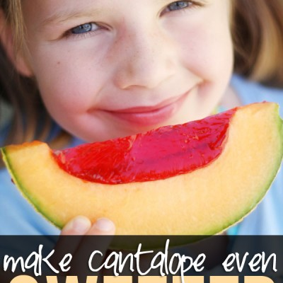 How to make Cantaloupe even SWEETer