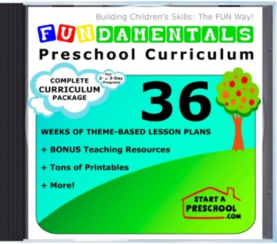 {It's back!!} Preschool Curriculum Package GIVEAWAY