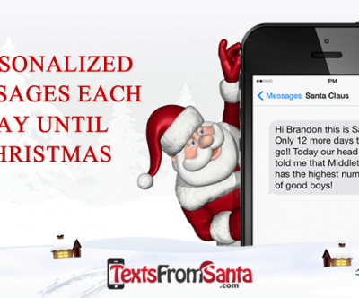 How To Make Christmas Even More Magical With a New Tradition – Get Texts From Santa!