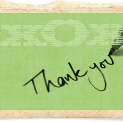 Giving Gratitude!